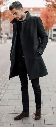 μαυρο ανδρικο ντυσιμο