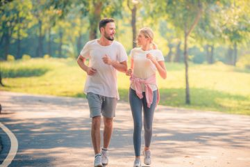 ζευγάρι τρέχει