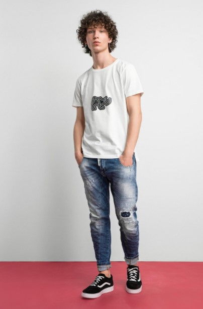 τζιν παντελόνι ξεβάματα Cosi jeans άνοιξη- καλοκαίρι 2021