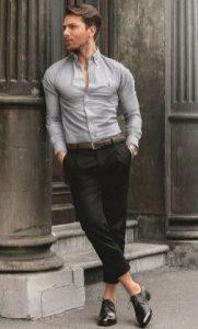 εφαρμοστο πουκαμισο και παντελονι