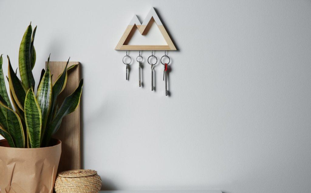 κλειδιά στο σπίτι