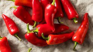 κόκκινες πιπεριές τονώσεις το μεταβολισμό