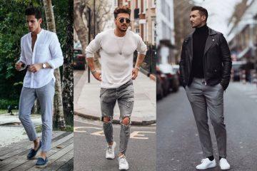 πως να φορεσεις το γκρι παντελόνι