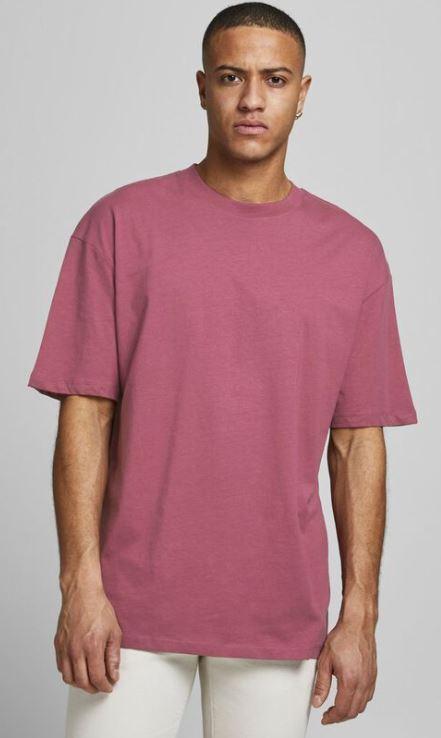 ροζ oversized μπλουζακι