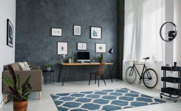 τρόπος για να ανανεώσεις το διαμέρισμα σου: χαλί σε δωμάτιο