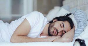 ανδρας κοιμαται