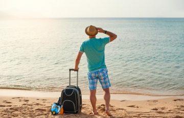 ανδρική βαλίστα στις διακοπές