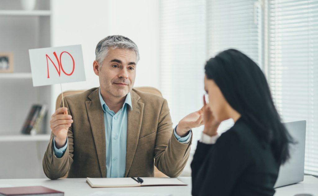 κακή συνέντευξη εργασίας
