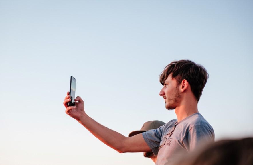 κινητό άνδρας καλοκαίρι
