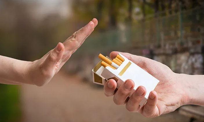 οχι στο τσιγάρο