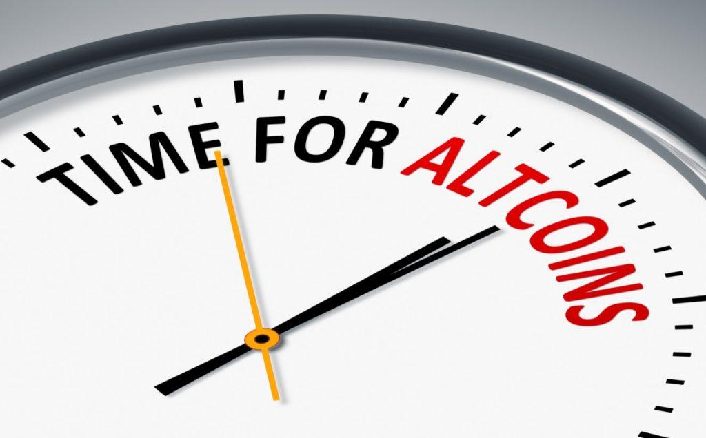 time for altcoins, ώρα για να αγοράσουμε κρυπτονομίσματα