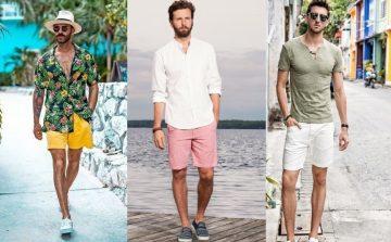 χρώματα για καλοκαιρινά ανδρικά ντυσίματα