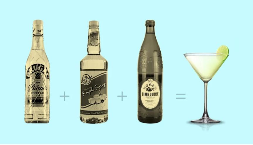 ντακιουρι καλοκαιρινά cocktails