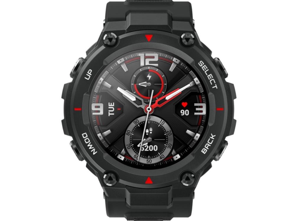 μαύρο ανδρικό smartwatch