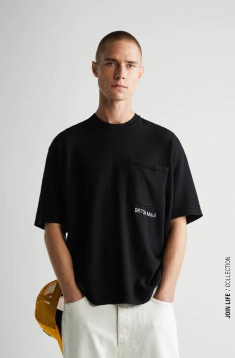 ανδρικά t-shirts από το Zara