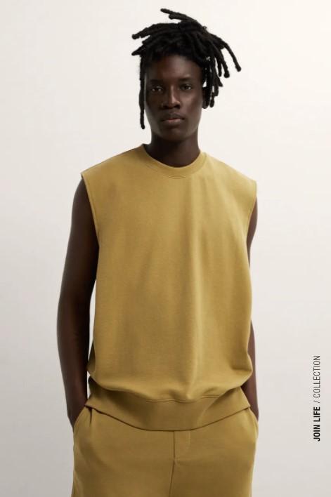 ανδρικά t-shirts λαδί