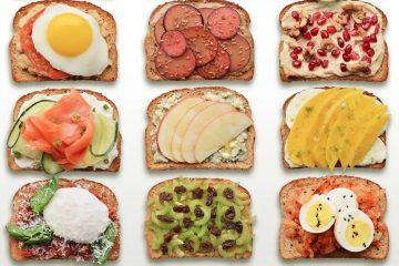 υγειινά τόστ για πρωινό