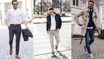 ανδρικά outfit συνδυασμός ζώνης με παπούτσια