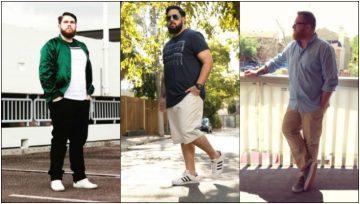 ρούχα για άνδρες με κοιλίτσα