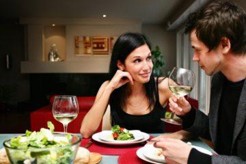 ζευγάρι σε ραντεβού