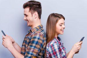 ζευγάρι στέλνει μηνύματα