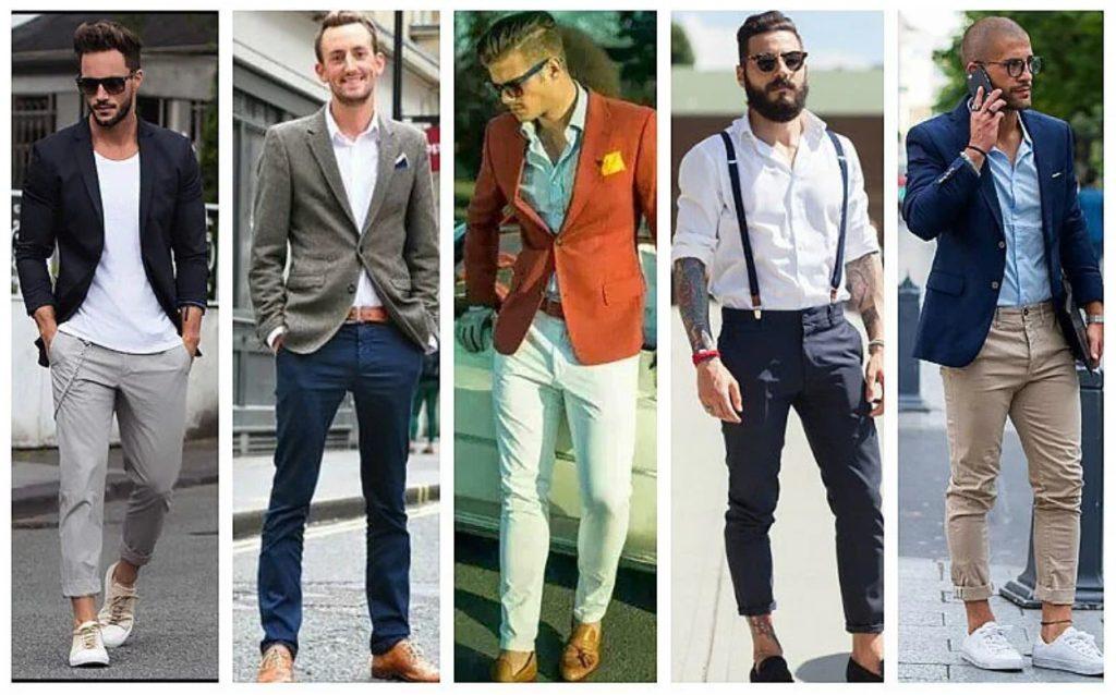 ανδρικά παντελόνια chino