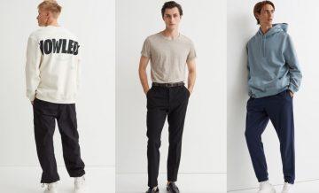 ανδρικά ρούχα H&M