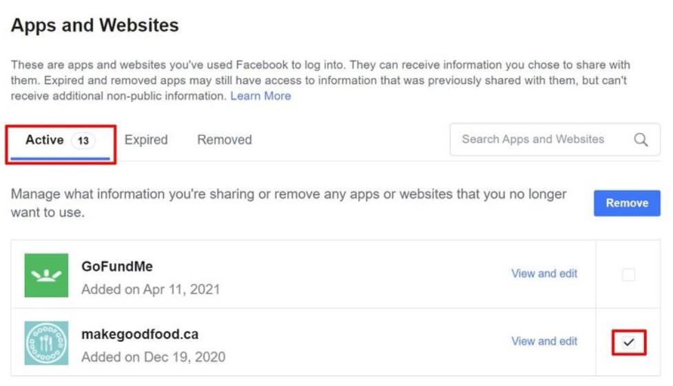 εφαρμογές facebook