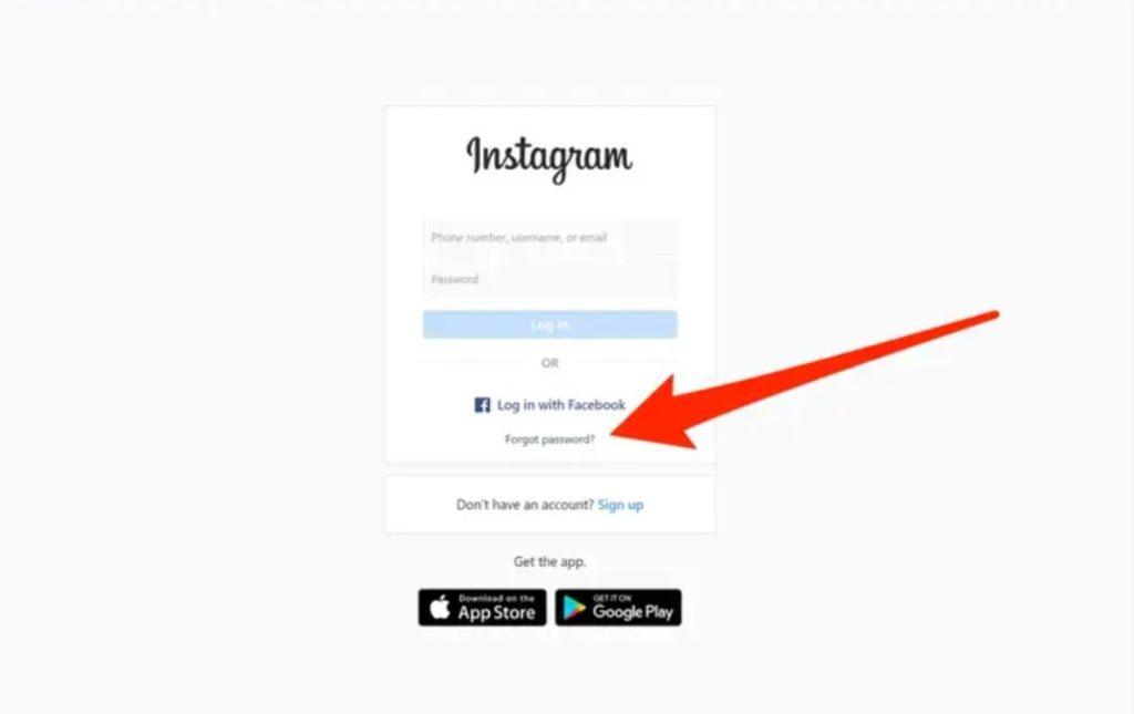instagram σύνδεση