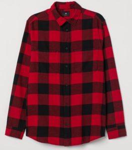 κοκκινο καρό πουκάμισο