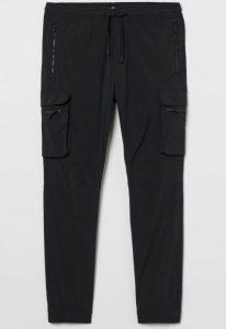 μαύρο κάργκο παντελόνι