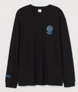 μαύρο μπλουζάκι