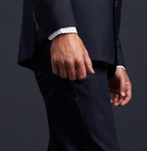 σακάκι τζιν παντελόνι πουκάμισο