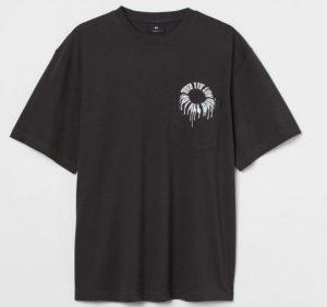 tshirt μαύρο