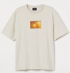 tshirt μπεζ