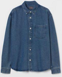 τζιν πουκάμισο