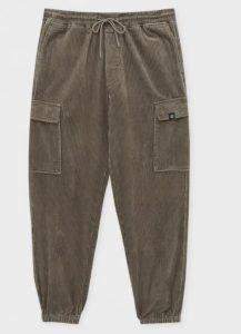 κοτλέ λαδί παντελόνι