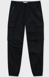 μαύρο καργκο παντελόνι