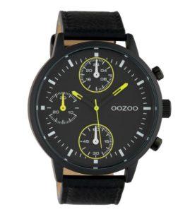 ανδρικό ρολόι μαύρο