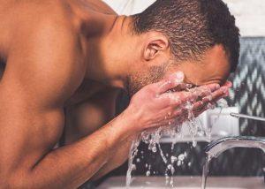 πλύσιμο προσώπου