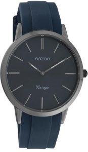 ρολόι ανδρικό με μπλε λουράκι