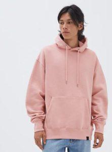 ροζ φούτερ