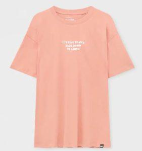 ροζ κοντομανικο tshirt