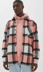 ροζ overshirt
